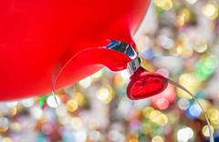 Macro Monday - Happy 10 years (jettebaltzer) Tags: macromonday macro happy10years balloon party celebrate sparkle bokeh dof