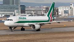 Alitalia, Airbus 320, EI-DTB (Eyal Zarrad) Tags: a320 alitalia eddf eidtb frankfurt