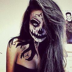Scary Halloween Makeup , #makeup , FB: http://ift.tt/2pR4u15 (ineedhalloweenideas) Tags: scary halloween makeup costume happy h