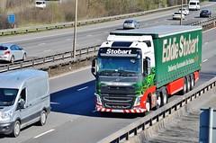 Eddie Stobart 'Gillian Joanne' (stavioni) Tags: esl eddie stobart truck trailer lorry group gillian joanne kx65pcu h4368 volvo fh fh4