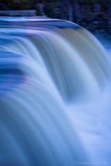 Rideau Falls (I saw_that) Tags: rideau falls blue hour blur longexposure 4second evening floodcontrol dam cold painterly water ottawa