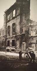 Quel che rimane di Palazzo D'Adda in via Olmetto dopo le bombe del 1943 (Milàn l'era inscì) Tags: urbanfile milanl'erainscì milano milan oldpicture milanosparita vecchiefoto