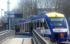 BRB in Hochzoll (christophrohde) Tags: brb bayerischeregionalbahn bahnhof augsburg hochzoll zug züge trains treni