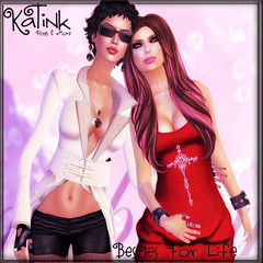 KaTInk - Besties For Life (Marit (Owner of KaTink)) Tags: katink my60lsecretsale 3dworlds photography 3dphotography poses posing secondlife sl 60l 60lsales 60lsalesinsecondlife