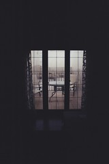 (statoingravitto) Tags: window cloudy lomo lomography dianamini 35mm film analog