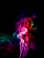 Let me dissolve ! (Saffatara) Tags: nikon nikond750 nikonphotography nikonphotos macro macrophotography abstract art amatuer amateur smoke smokeart creative creativephotography colorful color indoor