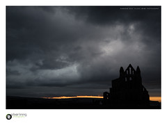 slp17-6798 (andypage7) Tags: abbey northyorkshire whitby whitbyabbey yorkshire moody religious sacred silhouette sundown sunset architecture dramatic cloudy stormy spooky eerie gothic ruin ancientmonument benedictine sinister evening england unitedkingdom uk monastic historic ancient
