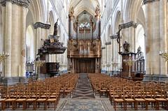 Saint-Omer (Pas-de-Calais) - Cathédrale Notre-Dame - Nef
