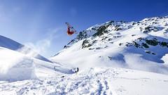 Papa Seb (Yograf) Tags: snowboard snow backcountrie savoie freestyle arèches beaufort frenchalps kicker montagne neige backflip