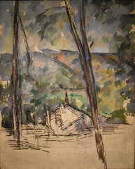 Paul Cezanne - Route to Le Tholonet, 1904 at Princeton Art Museum Princeton NJ (mbell1975) Tags: princeton newjersey unitedstates us paul cezanne route le tholonet 1904 art museum nj museo musée musee muzeum museu musum müze finearts fine arts gallery gallerie beauxarts beaux galleria painting new jersey french impression impressionist impressionism landscape paysage