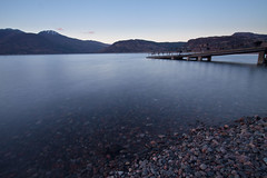 Sunset, Glenelg (mplatt86) Tags: scotland loch lake water jetty mountains highlands beach sea skye sky glenelg rural