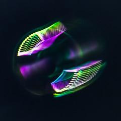 A Bubble in Flight - HMM (wendel68) Tags: macromondays intentionalblur bubble macro motion