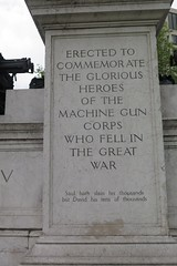 Machine Gun Corps memorial (inuitmonster) Tags: war memorials london hydeparkcorner machineguncorpsmemorial