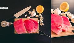 Red tuna steak (tamasdanyiko) Tags: fish food red tuna steak stillife still life canon 5dmarkiii sigma art 24mm
