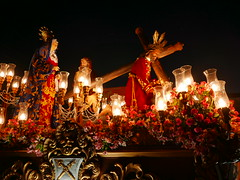 good friday procession (DOLCEVITALUX) Tags: goodfridayprocession processionofthesaints procession outdoor sunset parade saints jesuschrist philippines people sanmateo dioramas statues images lumixlx100 panasoniclumixlx100 panasonic passionofchrist