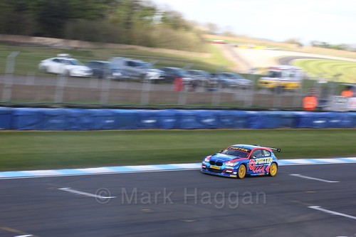 Andrew Jordan during qualifying during the BTCC Weekend at Donington Park 2017: Saturday, 15th April