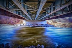"""Under the Bridge"" (MatthewPerry) Tags: ottawa manotick nepean jock river rideau bridge long exposure nd filter fuji fujifilm fujixseries series fujixt2"