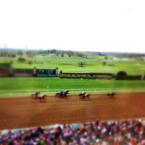 Keeneland Race 4. Easter weekend.