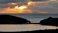 Nightfall  IMG_1704 (Ronnierob) Tags: spiggieloch foula shetlandisles sundown