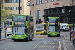 Big and green and as ugly as... (SelmerOrSelnec) Tags: arrivamerseyside volvo b5lh wright hybrid bt66mtf bw66gzk liverpool limestreet bus