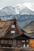 Shirakawa-go (Mikey Down Under) Tags: japan central honshu shirakawago ogimachi village historic world heritage site gessho style thatch roof straw timber home farm houses traditional spring mountains snow capped