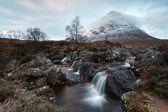 Frosty Cliché (Pete Rowbottom, Wigan, UK) Tags: frosty frost snow winter winterlandscape uk uklandscape ukwinter buachailleetivemor glencoe rivercoupall glenetive waterfall longexposure longexposurelandscape mountain clouds munro outdoors scotland scottishhighlands scottishlandscape peterowbottom heather colourful beautiful trees baretree rocks rocky rockyfalls highlandsofscotland highlandsandislands lochaber leefilters nikond750 wideangle britain ice snowing freezing weather water cherry dawn earlymorning explored explore inexplore kingshousehotel stobdearg