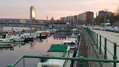Port des yachts, Liège, Belgium (claude lina) Tags: claudelina belgium belgique provincedeliège liège fleuve lameuse port portdesyachtsliège tourdesfinancesliège