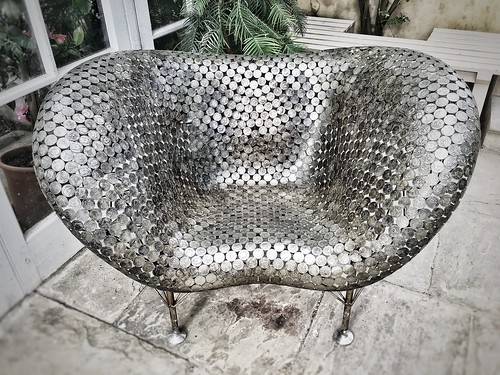 20170411 Half-dollar chair Chatsworth Derbyshire