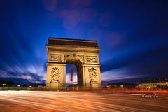 _D4_8576 (kevinle4230) Tags: sunset bluehour arcdetriomphe longexposure cityscape lights light paris france nightphotography canon 5dmarkiv 1635markiiii 1635mm 1635mmf28markiii cloud