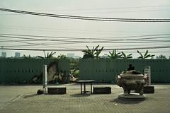 fence (InSoManyWords) Tags: film fujisuperia200 fujifilm 35mm rollei35 vietnam hanoi