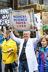 Thousands of protestors march from the Upper West Side to Times Square at the March for Science in New York City. (BumbyFoto) Tags: broadway epa nyc newyork newyorkcity presidenttrump trump anttitrump climate climatechange demonstration earth earthday environment environmental evolution government governmentpolicies march marchforscience people person policy political politics pollution proscience protest protesting protestor research savetheplanet science sciences scientist scientists ny usa