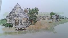 Trulli farm building, Alberobello, Puglia, Italy
