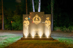All Gave Some, Some Gave All (stephenk1977) Tags: australia queensland qld brisbane gaythorne war memorial barracks enoggera ferguson park night nikon d3300 anzac day