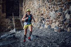 Number 1 (Melissa Maples) Tags: alanya turkey türkiye asia 土耳其 nikon d3300 ニコン 尼康 nikkor afs 18200mm f3556g 18200mmf3556g vr spring alanyaultramarathon race beach roman ancient ruins hill alanyacastle castle staircase steps stairs athlete runner woman