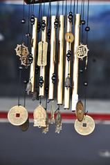 Wind chime (Roving I) Tags: windchimes decor restaurants danang vietnam vertical metal beads
