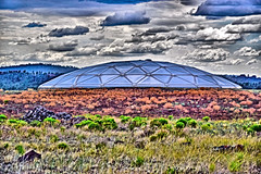 UFO? (Pugsley 66) Tags: nikond3300 abc watertank rooftop ufo colorful abstract surreal