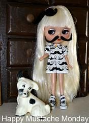 BaD April 24 - Mustache Monday!