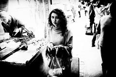 woman from the  market (Zlatko Vickovic) Tags: streetstreetphoto streetphotography streetphotographybw streetbw streetphotobw blackandwhite monochrome zlatkovickovic zlatkovickovicphotography novisad serbia vojvodina srbija