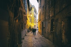 Found the Light (Jack R. Seikaly Photography) Tags: found light italy rome street alley couple people portrait jack seikaly jrseikaly photography buildings building