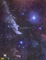 Witch Head Nebula (StarryEarth) Tags: witch head nebula cabeza bruja nebulosa galaxia ngc estrella star galaxy rigel orion eridanus constelación constellation
