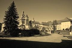 DSCF0056c_jnowak64 (jnowak64) Tags: poland polska malopolska cracow krakow krakoff wzgorzewawelskie zamekkrolewski katedra architektura historia wiosna mik sepia