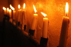 Straight luminosity (Bruce Estilo) Tags: candles night evening warm philippines journalism lowlight canon line perspective