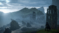 Middle Earth: Shadow of Mordor / The Overlook (Stefans02) Tags: middle earth shadow of mordor lord the rings brothers monolith screenshotart mountains beauty digital game landscape nature outdoor fighting screenshot art warner games screenshots hotsampled hotsampling image beautiful 4k atmosphere enveironment character 3 musketeers downsampling downsampled enveironments air clouds uruk mist