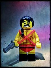 The Gun is Good (LegoKlyph) Tags: lego custom zardoz movie scifi cult classic sean connery gun god strange