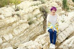 Om Shawl (Wasel Wasel Crafts) Tags: om shawl knitting knit knitalong andrea mowry cascade nature yarn tejer punto