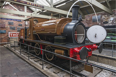 Nellie 0-4-0 Tank Engine (1922) (Clive1945) Tags: d7100 bradfordindustralmuseum 040 engine train loco hudswellclarke 1922