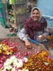 India . our old friend the flower seller (Nick Kenrick..) Tags: flowerseller india pushkar