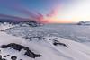 Pack ice after sunset (Markus Trienke) Tags: arctic ocean winter nature ice kulusuk landscape snow coast sea cold kommuneqarfiksermersooq gl evening sunset canon eos 5d mkiv greenland rocks