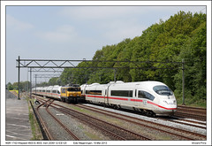 NSR 1742+Hispeed 4603 & 4653 - Ede Wageningen - 20361 & ICE125 (19-05-2013) (Vincent-Prins) Tags: ede wageningen hispeed nsr ice3 1742 4603 4653 28361 ice125