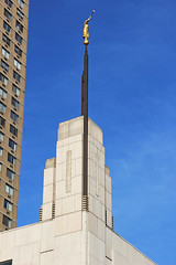 Manhattan New York Temple, New York City (watersling) Tags: newyork angel temple mormon frankfernandez